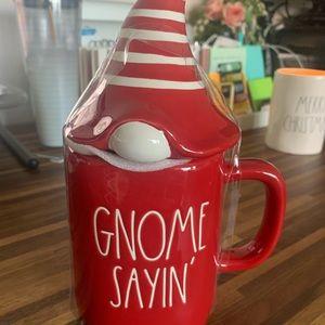 NWT Rae Dunn Gnome Sayin'